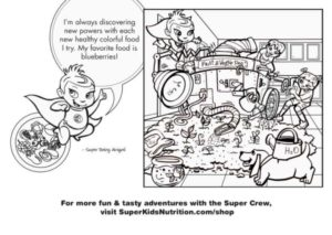 Jessie and Super Baby Abigail coloring page