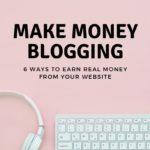 make money blogging course
