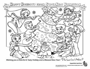 SuperKids Nutrition Holiday Card