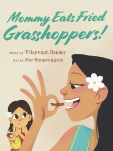 Mommy Eats Fried Grasshoppers Book Cover